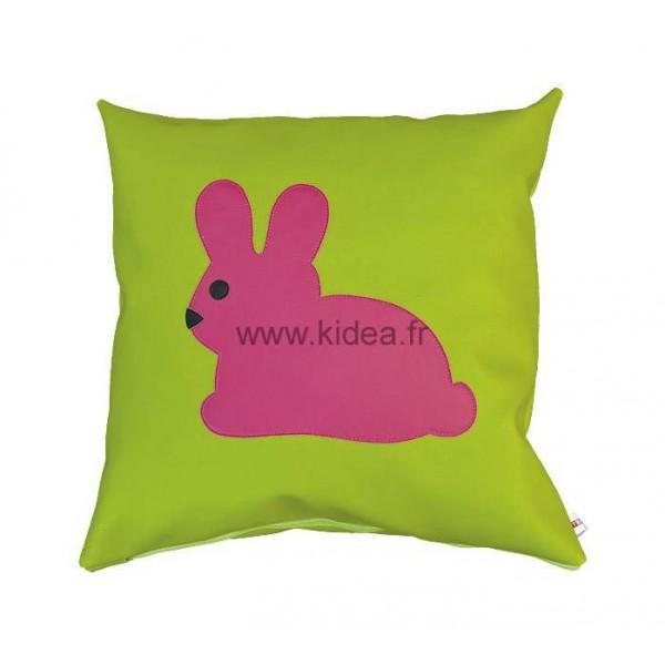 Coussin carré - Motif lapin