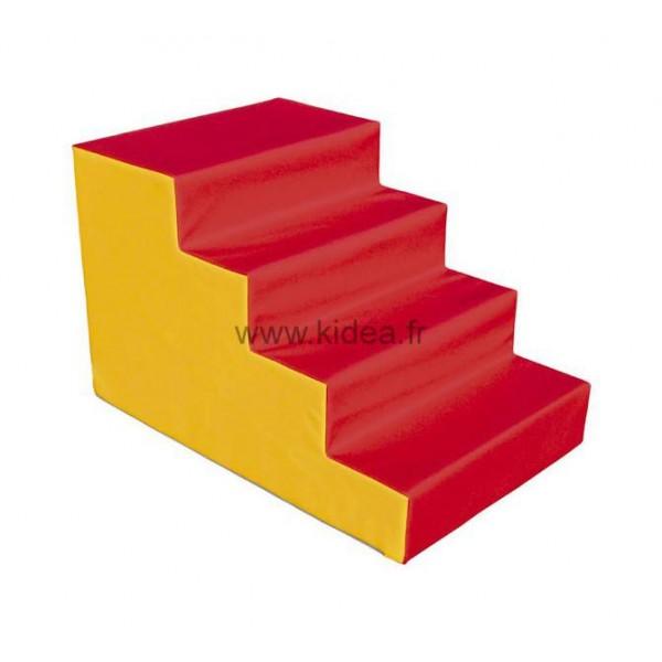 Escalier 4 marches de motricité