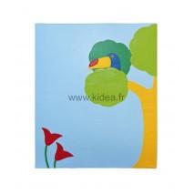 Protection murale - Motif oiseau exotique