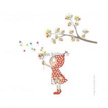 Sticker Le jardin zen