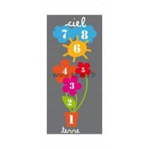 Sticker sol Marelle Fleurs 200 cm