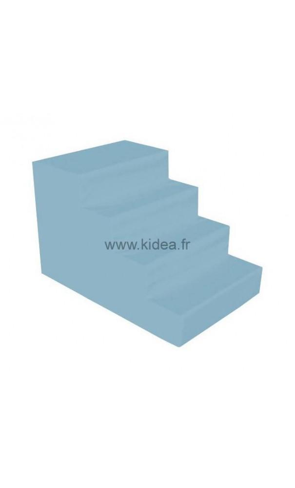 Escaliers 4 marches en mousse pour enfants for Petit escalier 4 marches