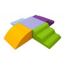 Parcours de motricité « GRAND PODIUM » (5 modules)