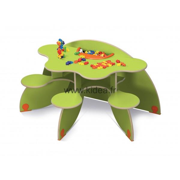 Table à jouer Trèfle