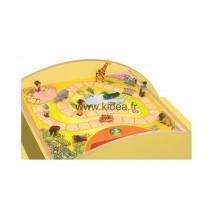 Plateau de jeu Carreau Safari