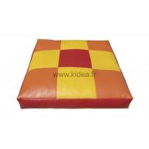 Grand coussin carré - 3 couleurs