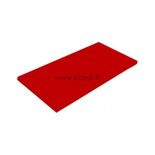 Tapis de gymnastique rouge