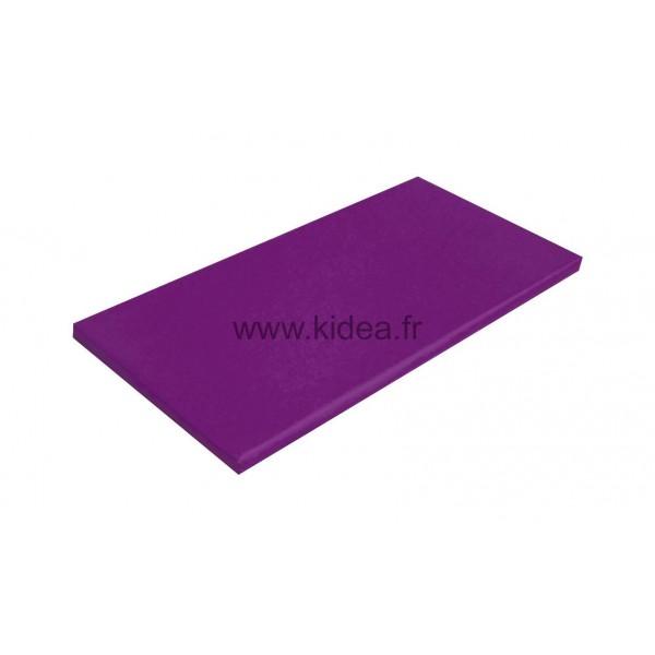 Tapis de gymnastique violet