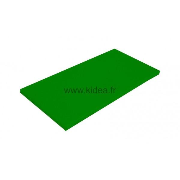Tapis de gymnastique vert foncé