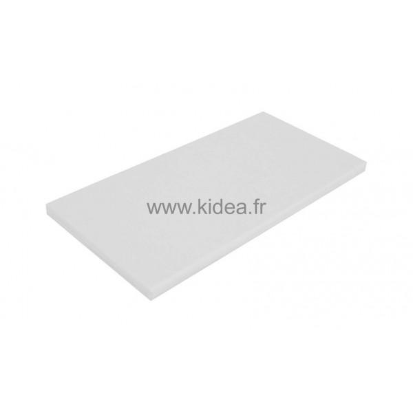 Tapis de gymnastique blanc