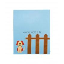 Protection murale - Motif chien