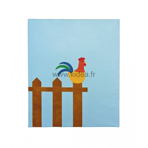 Protection murale - Motif coq