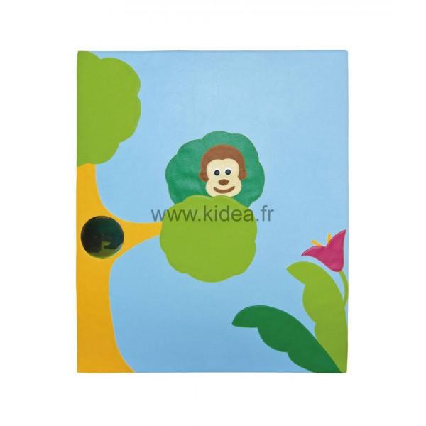 Protection murale - Motif singe