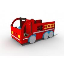 Cabane camion de pompier