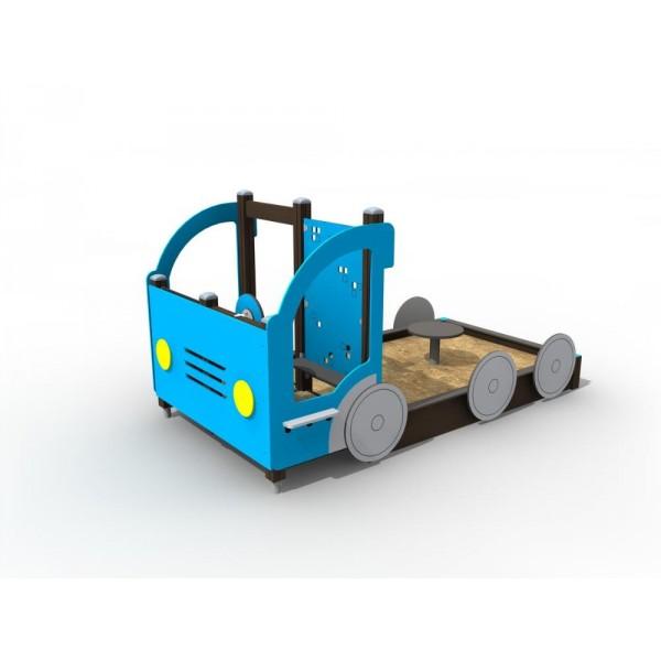 Bac à sable camion