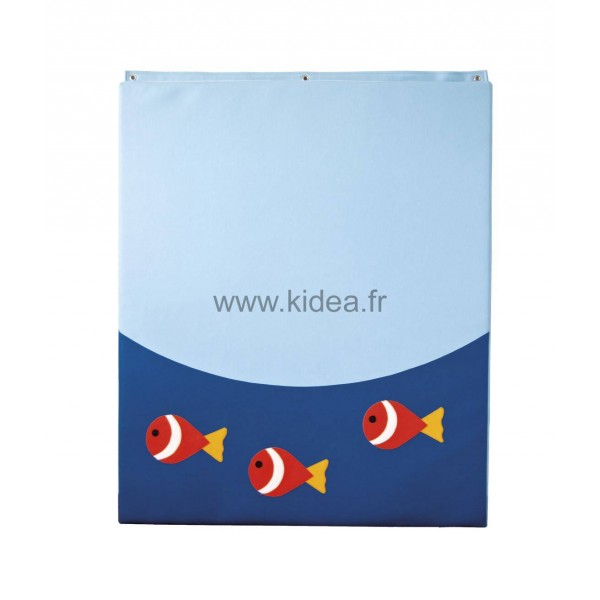 Protection murale - Motif poissons