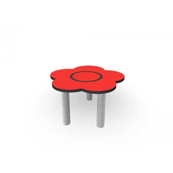 Table fleur aire de jeux