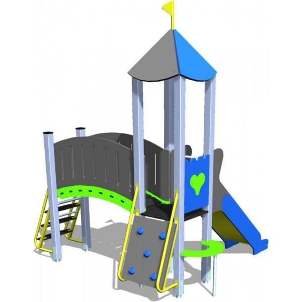 Structure de jeux château