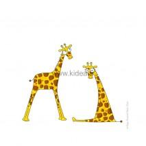 Sticker Messieurs les Girafons