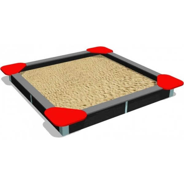 Bac à sable carré standard