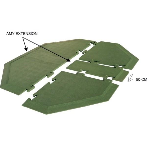 Extension sol amortissant jeu à ressort