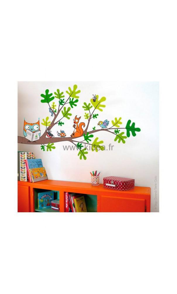 Sticker petite lecture pour une d coration professionnelle for Decoration professionnelle
