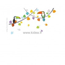 Sticker Les toucans