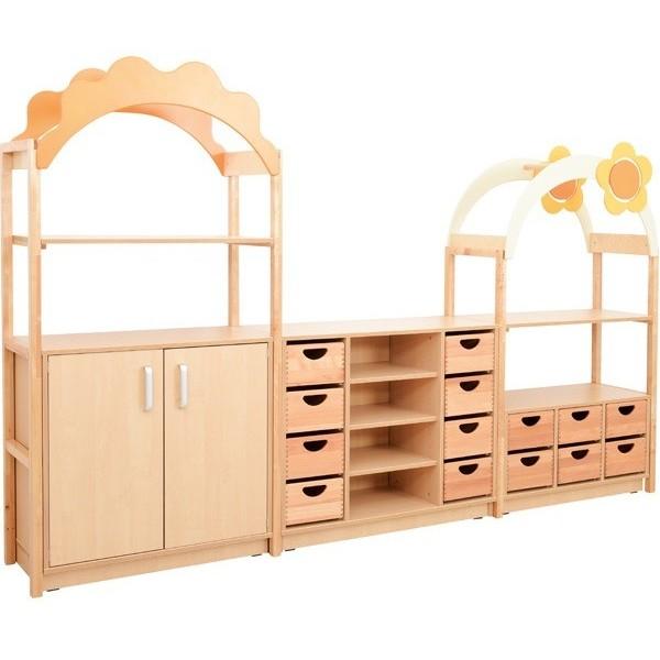 Mobilier scolaire bois