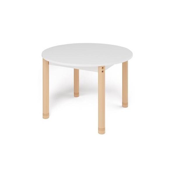 Table ronde colorée - de 40 à 58 cm