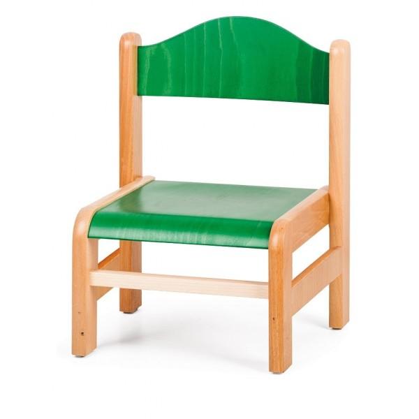 Chaise enfant verte -T0
