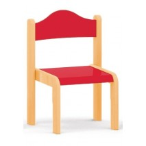 Chaise enfant rouge - T3