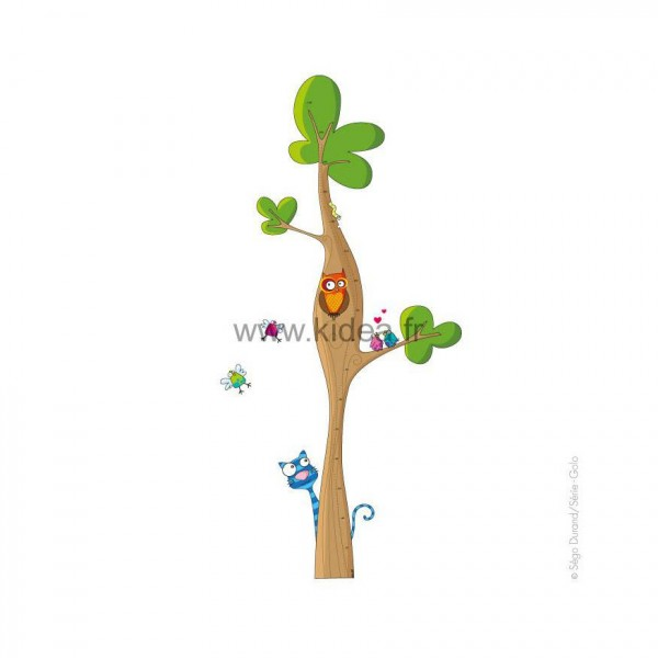 Sticker Toise arbre