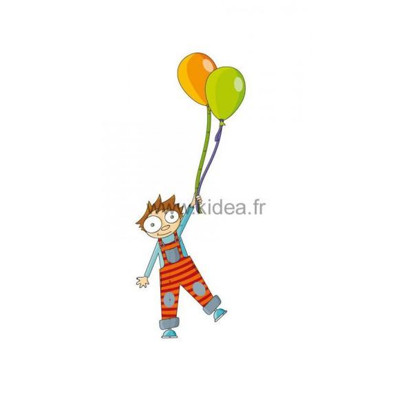 Sticker Toise garçon