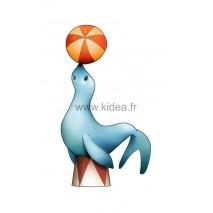 Sticker Cirque - L'otarie