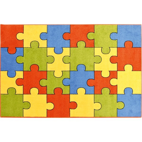 Tapis de regroupement rectangle puzzle