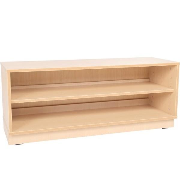 Meuble bas avec une étagère