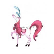 Sticker Cirque - Le cheval