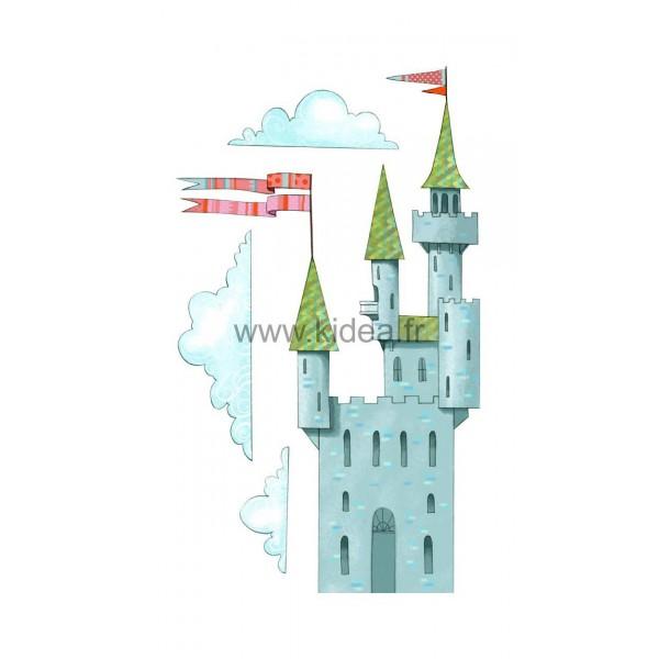 Sticker Médiéval - Le Château / the castle