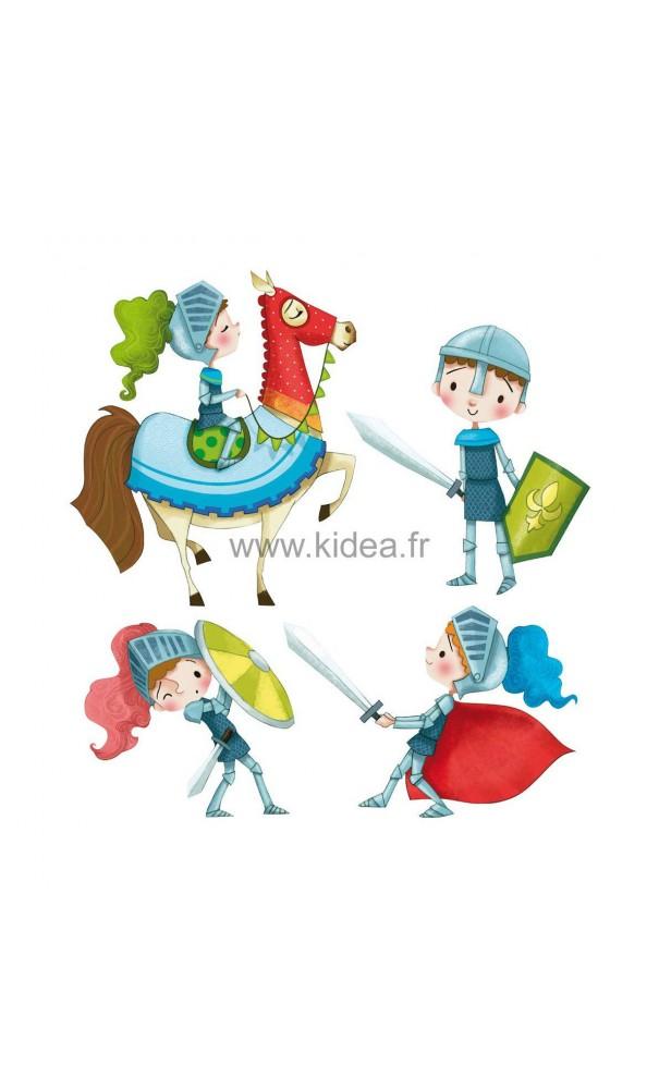 Sticker les chevaliers pour une d coration professionnelle for Decoration professionnelle