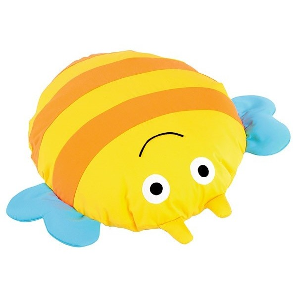 Grand coussin abeille
