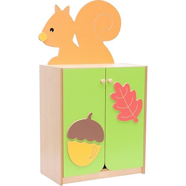 Petite armoire avec écureuil