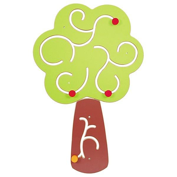 Jeu mural en bois arbre
