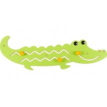 Jeu motricité mural crocodile