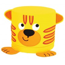 Assise enfant tigre