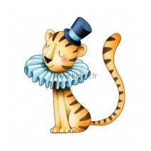 Sticker Cirque - Petit tigre