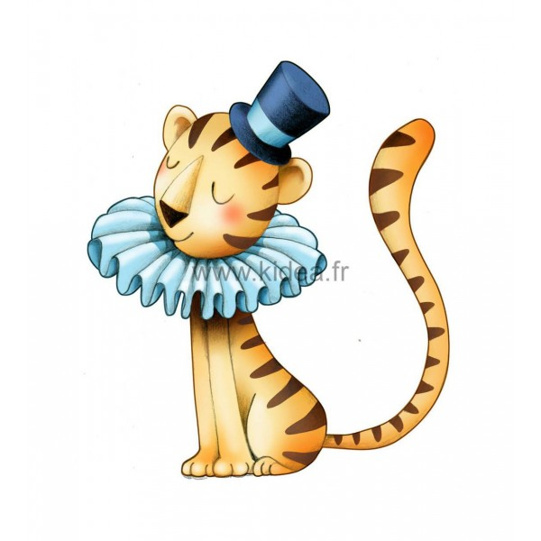Sticker Cirque - Petit tigre