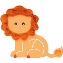 Panneau sensoriel motricité lion