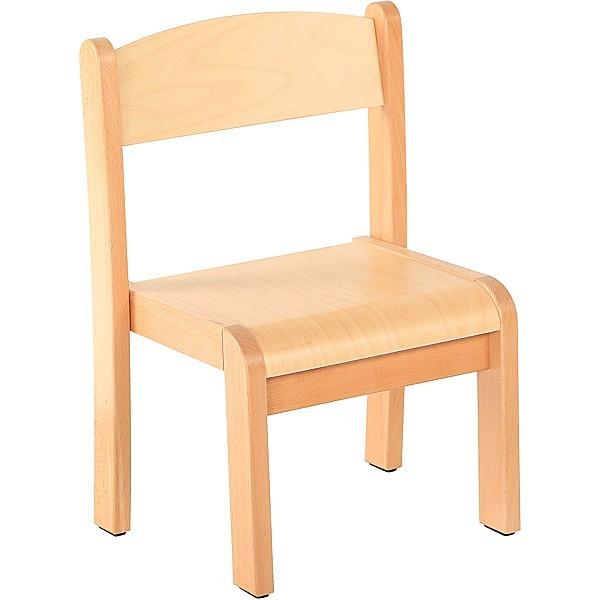 Chaise classe maternelle bois - T1 à T3