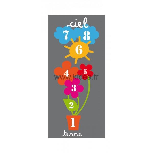 Sticker sol Marelle Fleurs 300 cm