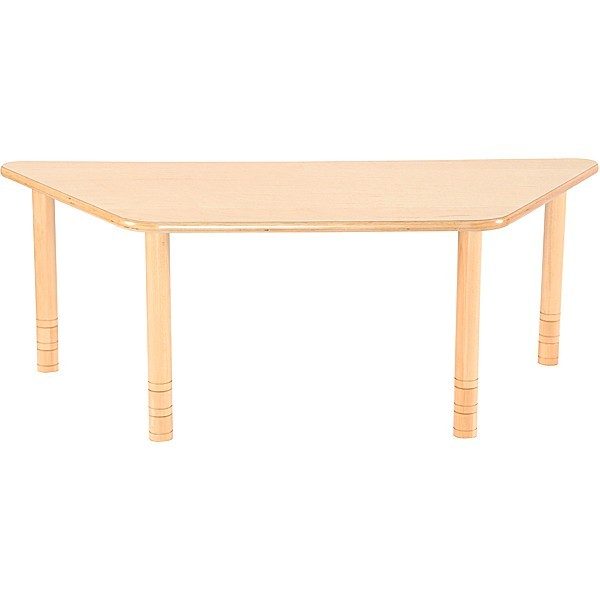 Table maternelle trapèze réglable